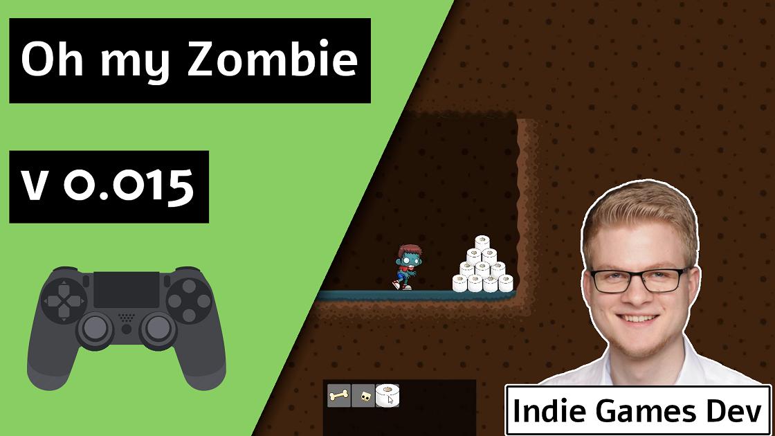 indie game devlog Oh my Zombie V0.015 Release